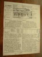 A. GIGOT Anvers - Anno 1948 ( Offerte Tafeltoile-Cirees ) ! - Belgique