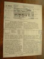 A. GIGOT Anvers - Anno 1948 ( Offerte Tafeltoile-Cirees ) ! - ... - 1799