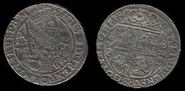 ROYAUME DE POLOGNE . SIGISMOND III VASA . 1/4 DE THALER OU ORT KORONNY . 1622 - Polonia