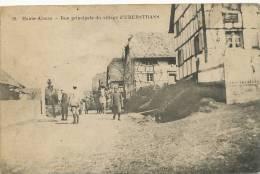 Uberstrass 38 Rue Principale Imp Bourdier Versailles  Schmitt  Belfort Tresor Postes Guerre 14 - Other Municipalities