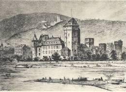 39_38 Oberlahnstein Kurmainzer Schloss - Lahnstein