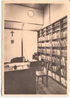 BATEAU-CHAPELLE-SPES NOSTRA-N°10 BIBLIOTHEQUE-BIBLIOTHEEK-SECRETARIAT- CARTE VIERGE-EDIT.ERN.THILL-BRU XELLES - Charleroi