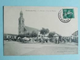 CROIX DE VIE ( ST Gilles Croix De Vie), Le Marché, Place De L'Eglise - Saint Gilles Croix De Vie