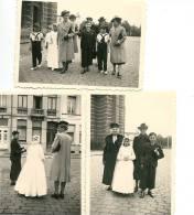 BOECHOUT Sortie De L´église Des Communiants Très Animée 1941 - Boechout
