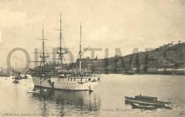 PORTUGAL - PORTO - CORVETA ESTEPHANIA - 1905 PC. - Porto