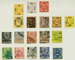 Türkey Mi.N° ?? Kleines Ensemble Von 18 Briefmarken Der Türkischen Klassik - Usati