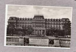 37816   Svizzera,  Geneve  -   Le  Palais  Des  Nations  Et  Plaque  Commemorative  President  Wilson,  NV - GE Genève