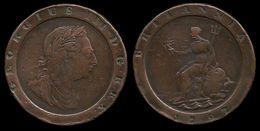 GRANDE - BRETAGNE . GEORGE III . 2 PENCE . 1797 . - 1662-1816 : Anciennes Frappes Fin XVII° - Début XIX° S.
