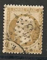 Fr  Pub Prix Fixe   YT N° 21 Oblitere Etoile De Paris  N° 23 - 1862 Napoleon III