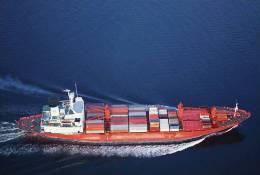 S38-042   @  Container Ship,  Porte-conteneurs, Containerschiff , Cargo Ship, Navire De Charge, Frachtschiff - Boten