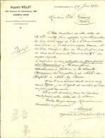 CUESMES MONS  AUGUSTE WILLOT  Harmignies, Niel Ou Rupell, Niel Lez Boom ... 29.06.1920 - Belgique