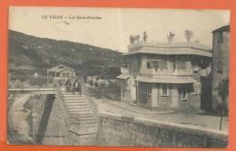 E293, Le Vigan, Les Bains-Douches, Animée, Circulée 1917 - Le Vigan