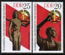 GERMAN DEMOCRATIC REPUBLIC    Scott #  1639-42**  VF  MINT NH - [6] Democratic Republic