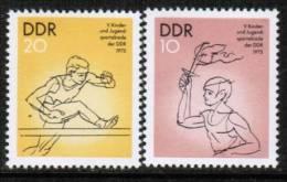 GERMAN DEMOCRATIC REPUBLIC    Scott #  1665-8**  VF  MINT NH - [6] Democratic Republic