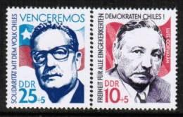 GERMAN DEMOCRATIC REPUBLIC    Scott #  B 174-5**  VF  MINT NH - [6] Democratic Republic