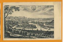LIEGE  En 1646 -  Selon Mérian - Liege