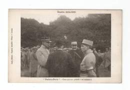 CPA :Poilu's Park : Ceux Qui Ont Présidé à Sa Naissance : Les Fondateurs Du Parc - Animation - Guerre 1914-18