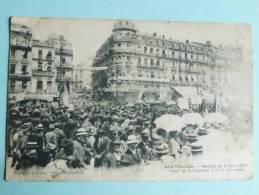 MONTPELLIER - Meeting Du 9 Juin 1907, Place De La Comédie, à 11 Heures Du Matin - Montpellier
