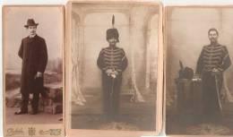 PHOTO  Militaire Belge  Faisant Partie D´une Série De Document De 1902 à 1919 à Sa Démo N° 2 - Documents Historiques