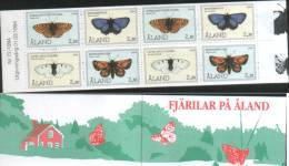 Aland 1994 Carnet Farfalle - Butterflies Booklet  - Papillons Carnet   ** MNH - Aland