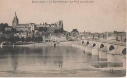 GIEN ( .vue .generale.- Le Pont Et Le Chateau ) - Gien