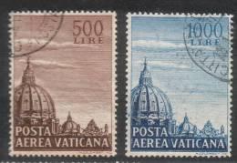 Vaticano - 1953 - Cupolone (usati) - Poste Aérienne