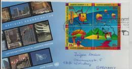 =UNO  FDC BLOCK 1997 - New York -  VN Hauptquartier