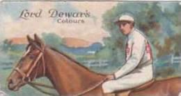 E & W Anstie Vintage Cigarette Card Racing Series No 4 Lord Dewars Colors 1922 1st Series Scarce - Cigarette Cards