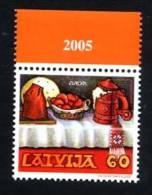 LETTONIE LATVIA 2005, EUROPA GASTRONOMIE, 1 Valeur, Neuf. R1110 - 2005