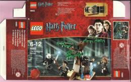 LEGO Carton BOX - No 4865 Harry Potter - The Forbidden Forest - Catalogs