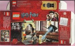 LEGO Carton BOX - No 4736 Harry Potter - Freeing Dobby - Catalogs