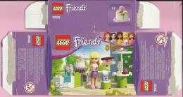 LEGO Carton BOX - No 3930  Friends - Stephanie Fun Cooking - Catalogs