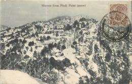 MURREE FROM PINDI POINT SNOW - Inde