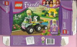 LEGO Carton BOX - No 3935  Friends - Stephanie Animal Rescue - Catalogs