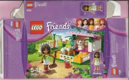 LEGO Carton BOX - No 3938  Friends - Andrea - Home For The Rabbit - Catalogs
