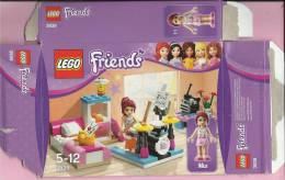 LEGO Carton BOX - No 3939  Friends - Mia - Bedroom - Catalogs
