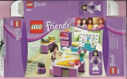 LEGO Carton BOX - No 3936  Friends - Emma - Design Studio - Catalogues