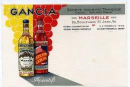 13 - Marseille - Gancia; Apéritifs ; Société Annyme Française. - Non Classés