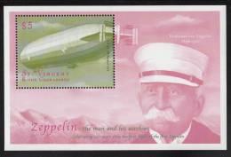 St. Vincent MNH Scott #2788 Souvenir Sheet $5 Zeppelin - Centenary Of 1st Zeppelin Flight - St.Vincent (1979-...)