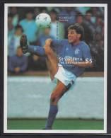 St. Vincent MNH Scott #2463 Souvenir Sheet $5 Ally McCost, Scotland - World Cup Soccer - St.Vincent (1979-...)