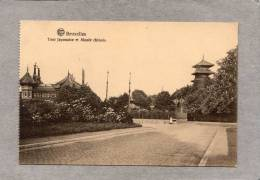 37882     Belgio,   Bruxelles   -  Tour  Japonaise  Et  Musee  Chinois,  NV - Musei