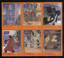 St. Vincent MNH Scott #2367a-#2367f  Block Of 6 10c Scenes From Disney's 'The Hunchback Of Notre Dame' - St.Vincent (1979-...)
