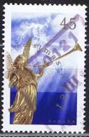 1998  Christmas Issue Angel Of The Last Judgement Perf. Change 13,1 X 13,6  Sc 1764b Used - 1952-.... Règne D'Elizabeth II