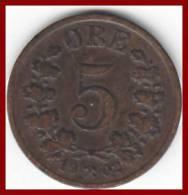 NORWEGEN 5 Øre 1902 - Norwegen