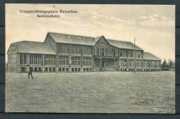 1915 Belgium Beverloo Truppenplatz Soldetenheim Feldpostkarte - WW I