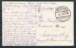 1916 Belgium Beverloo Truppenplatz Postkarte - WW I