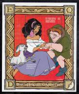 St. Vincent MNH Scott #2327 Souvenir Sheet $6 Esmeralda, Quasimodo, Djali - Disney´s Hunchback Of Notre Dame - St.Vincent (1979-...)