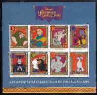 St. Vincent MNH Scott #2326 Sheet Of 8 $1 Characters From Disney´s Hunchback Of Notre Dame - St.Vincent (1979-...)