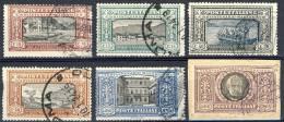 Regno 1923, Manzoni, SS 29, N. 151-156, Usati, (L. 5 Riparato) Cat. € 8400 - 1900-44 Vittorio Emanuele III