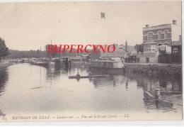 59 NORD N°123 LAMBERSART ENVIRONS DE LILLE VUE SUR LE GRAND CANAL PENICHE D'HABITATION - Lambersart